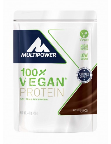 Multipower 100% VEGAN PROTEIN 450g...