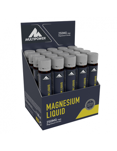 Multipower MAGNESIUM LIQUID 20x25ml...