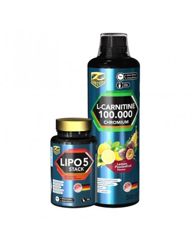 Zestaw L-Karnityna Chromium i Lipo 5...